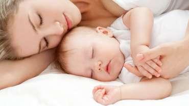 Совместный сон с мамой.