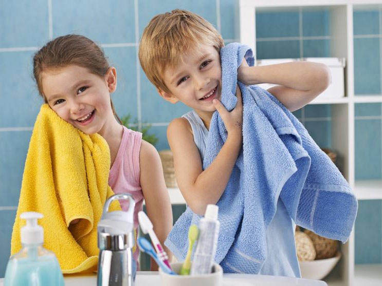 Как выбрать полотенце для купания?